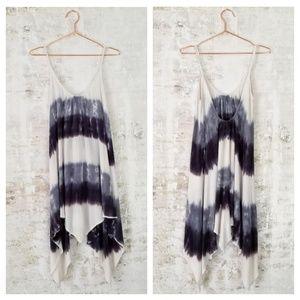 Mona B spaghetti strap tie dye dress size medium